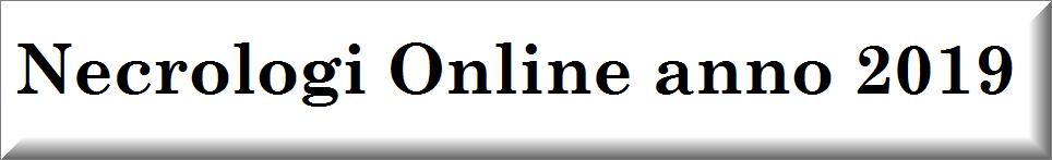 necrologi online anno 2019